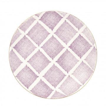 Plato de cerámica Kassandra Lavendar Green Gate