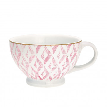 Tazón con asa Kassandra Pale Pink GreenGate