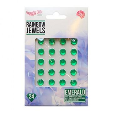 Diamantes comestibles Verde Esmeralda Rainbow Dust