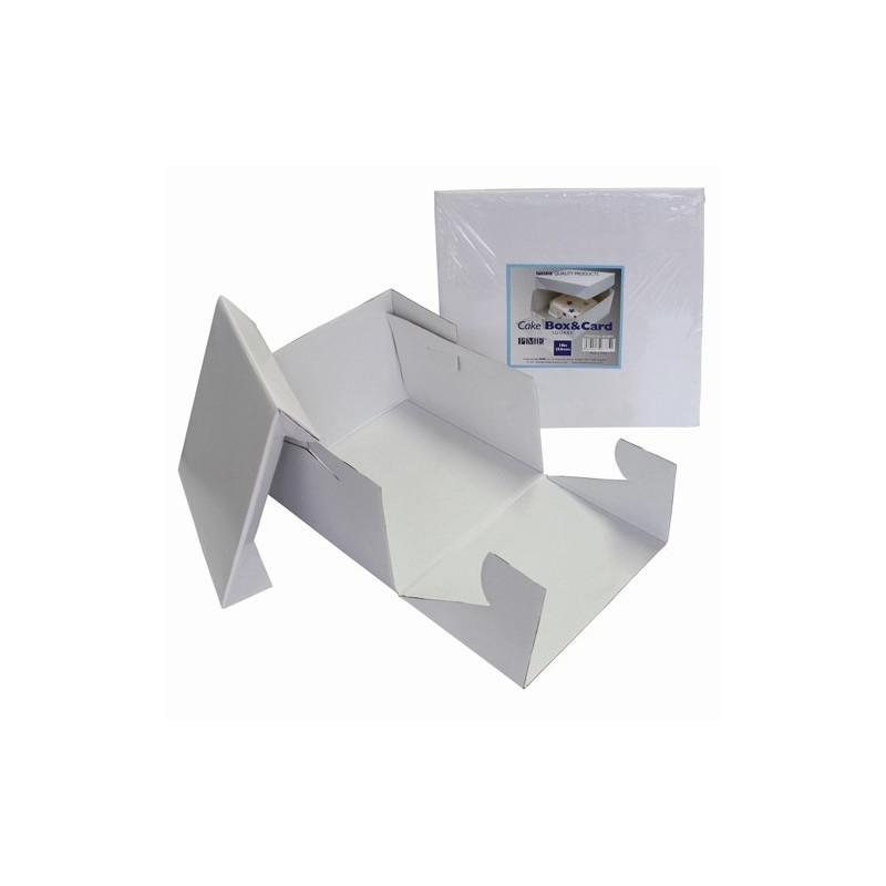 Caja para tarta cuadrada de 25 cm PME