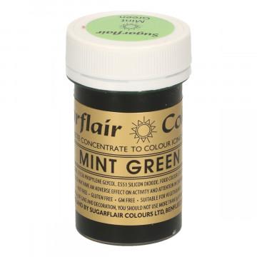 Colorante en pasta Mint Green Sugarflair