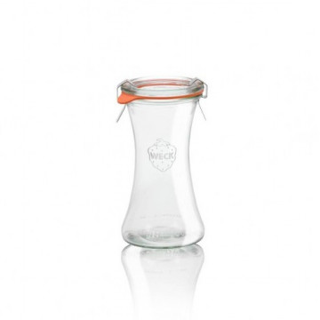Tarro de cristal Deli 200 ml Weck