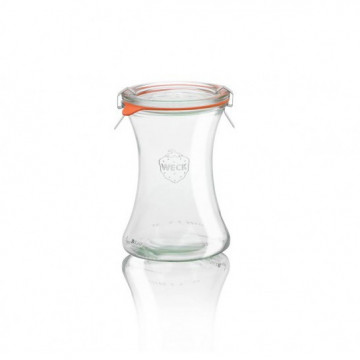 Tarro de cristal Deli 370 ml Weck