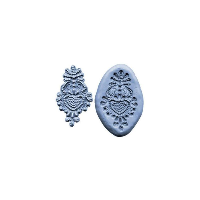 Molde silicona Medallón Barroco