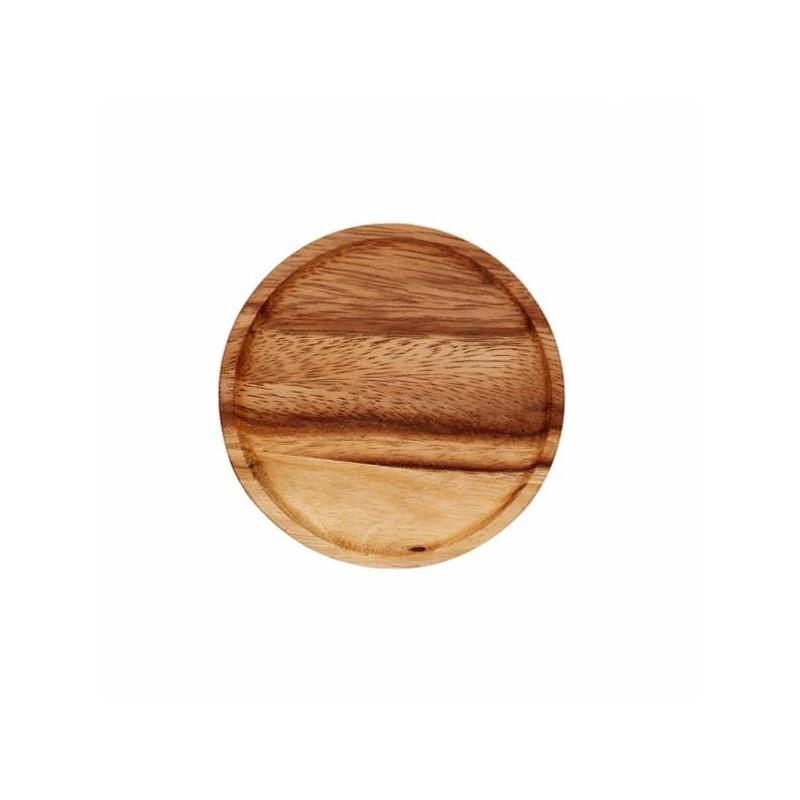 Tapa de madera diámetro 100 mm Weck