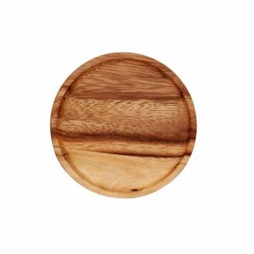Tapa de madera diámetro 80 mm Weck