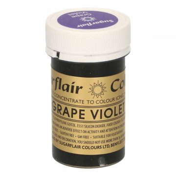 Colorante en pasta Grape Violet Sugarflair