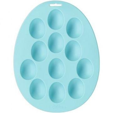 Molde de 12 cavidades de silicona Huevo Pascua Wilton