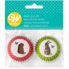 Cápsulas de mini cupcakes Conejo y Ardilla Wilton