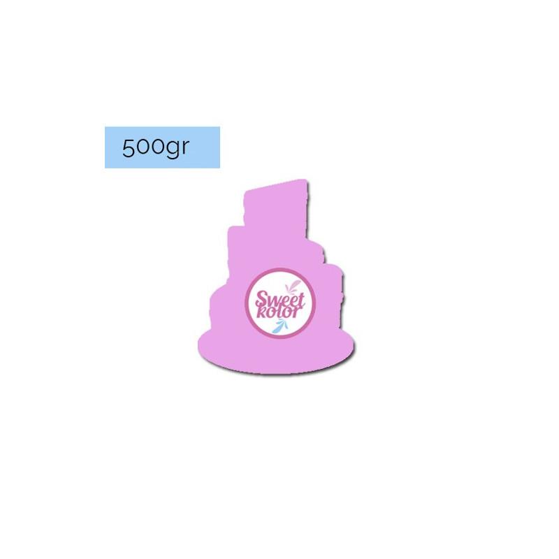 Fondant Lila 500 gr Sweet Kolor