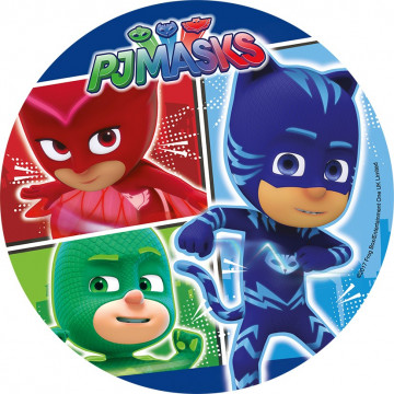 Oblea comestible PJ Masks 3 Modecor