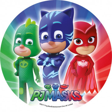 Oblea comestible PJ Masks 4 Modecor