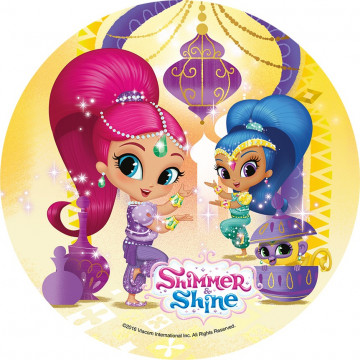 Oblea comestible Shimmer & Shine 2 Modecor