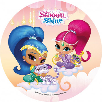 Oblea comestible Shimmer & Shine 3 Modecor