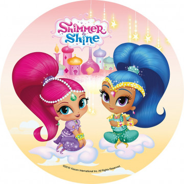 Oblea comestible Shimmer & Shine 4 Modecor