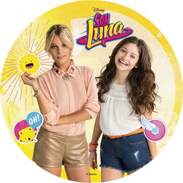 Oblea comestible Soy Luna 4 Modecor