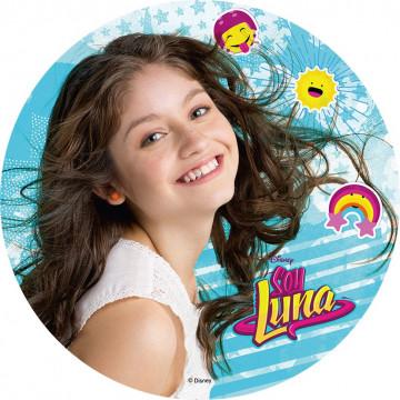 Oblea comestible Soy Luna 3 Modecor