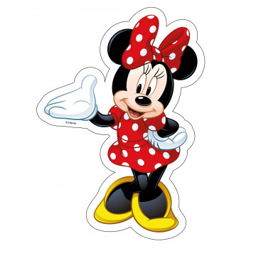 Oblea comestible Silueta Minnie Modecor