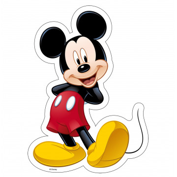 Oblea comestible Silueta Mickey Modecor