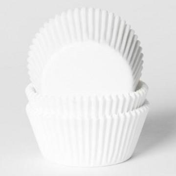 Capsulas cupcakes Blancas HoM