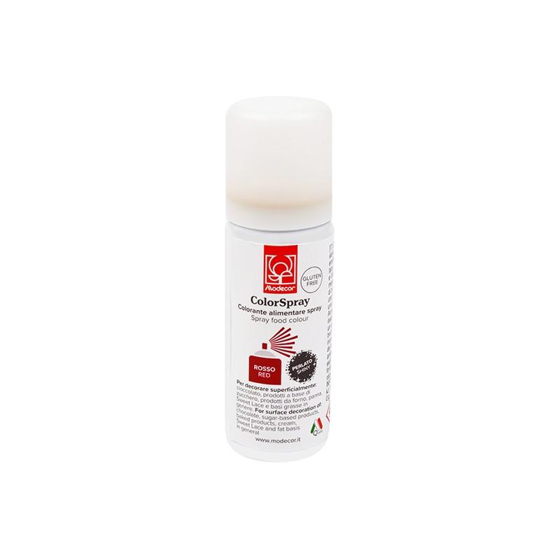 Spray Rojo Metalizado 50 ml Modecor