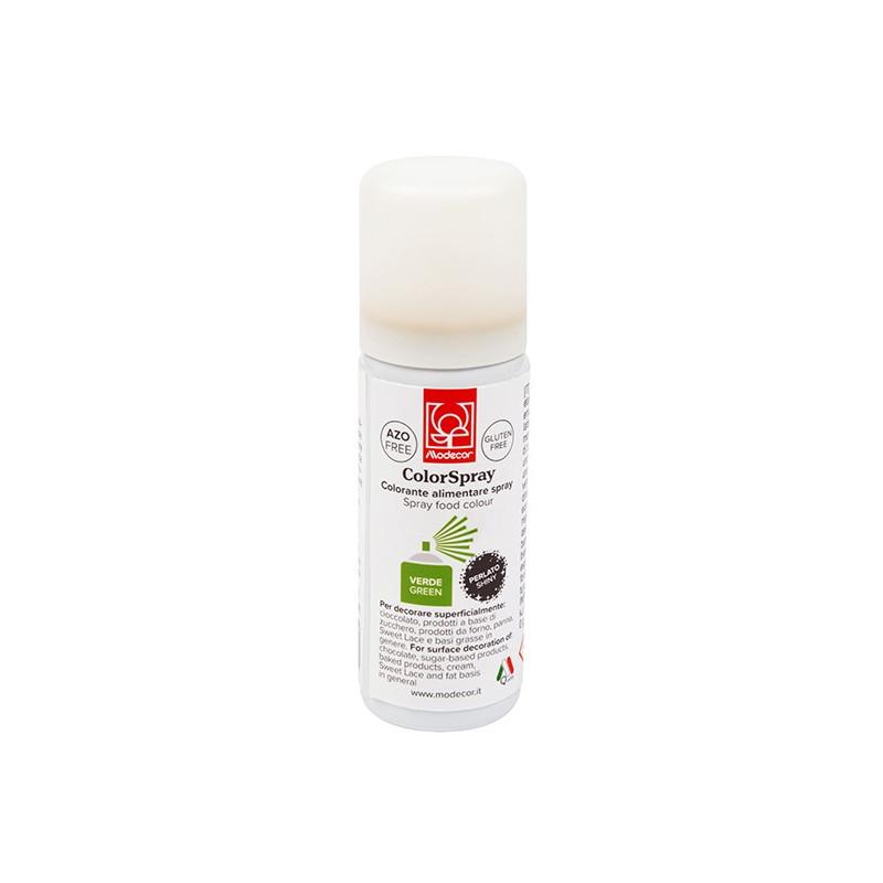 Spray Verde Metalizado 50 ml Modecor
