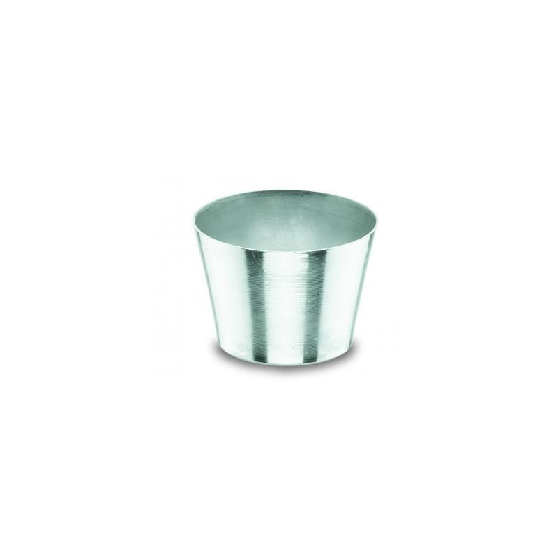 Molde para flan de aluminio 6 cm