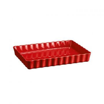 Molde de cerámica Rectangular Rojo Emile Henry