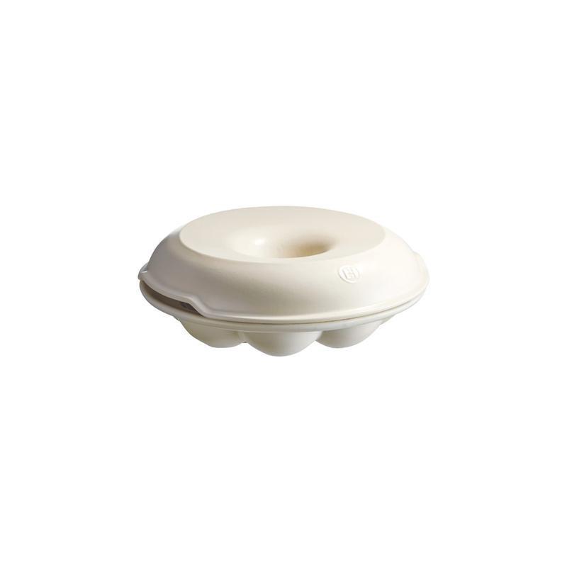 Molde de cerámica Corona Crema Emile Henry