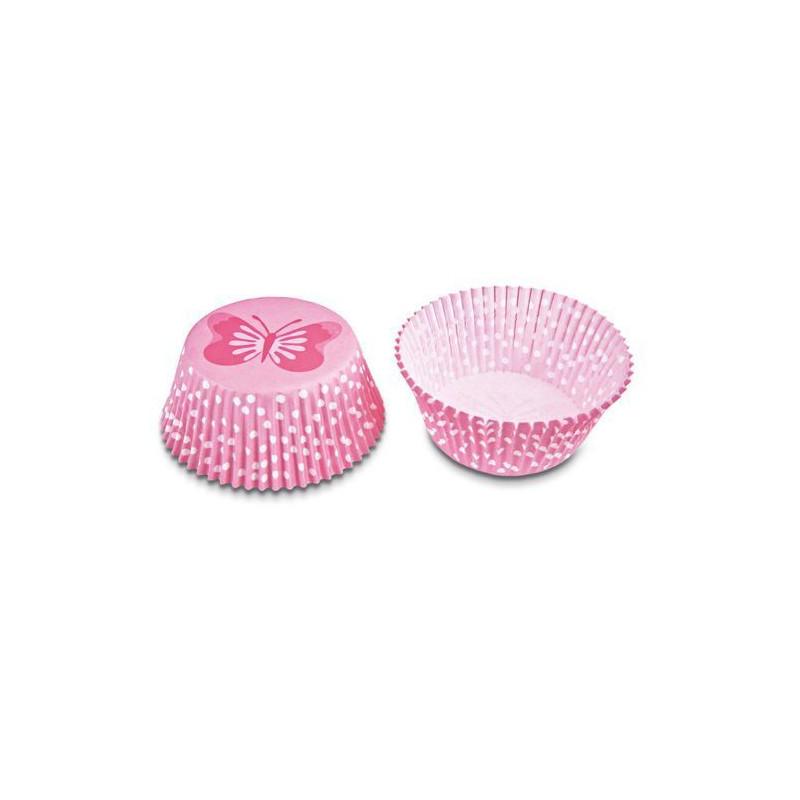 Capsula cupcakes Rosas con Mariposas Stadler