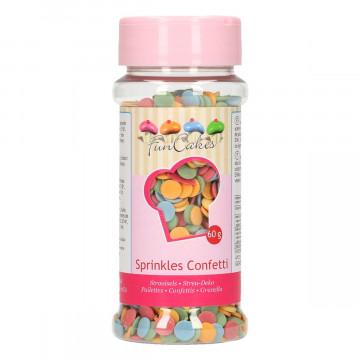 Sprinkles  Maxi Circulitos de Colores Funcakes