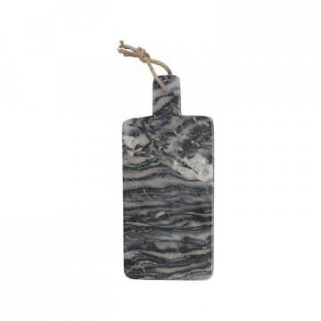Tabla de corte de mármol gris Creative Tops