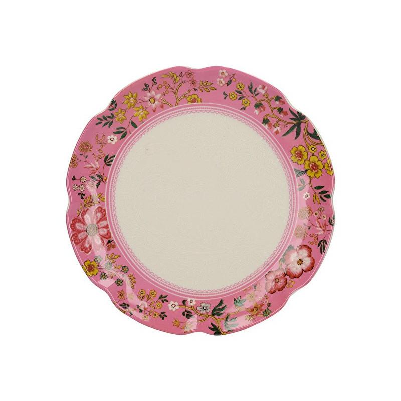 Plato de cerámica 17 cm Rosa Eastern Floral Katie Alice