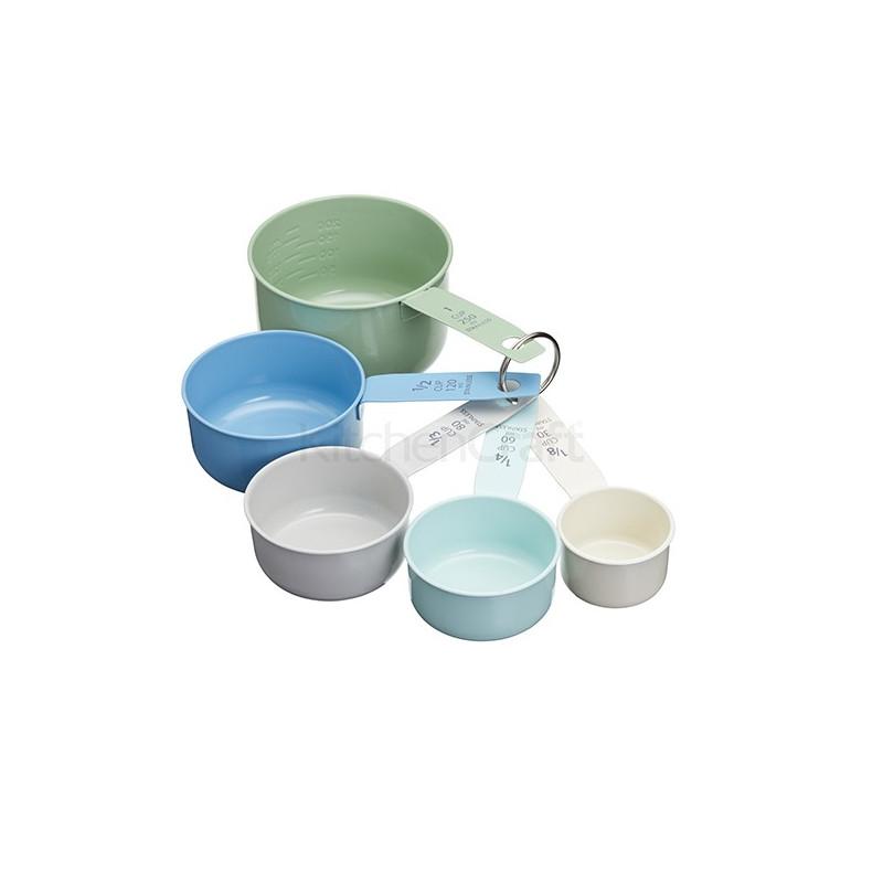 Medidor de Tazas Esmaltado Colores Pasteles Kitchen Craft