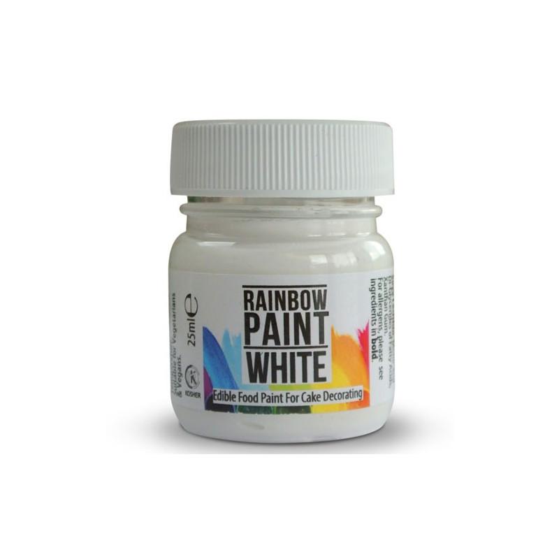 Pintura comestible Blanca Rainbow Dust