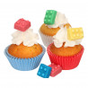 Decoraciones comestibles Bloques de Construcción Funcakes