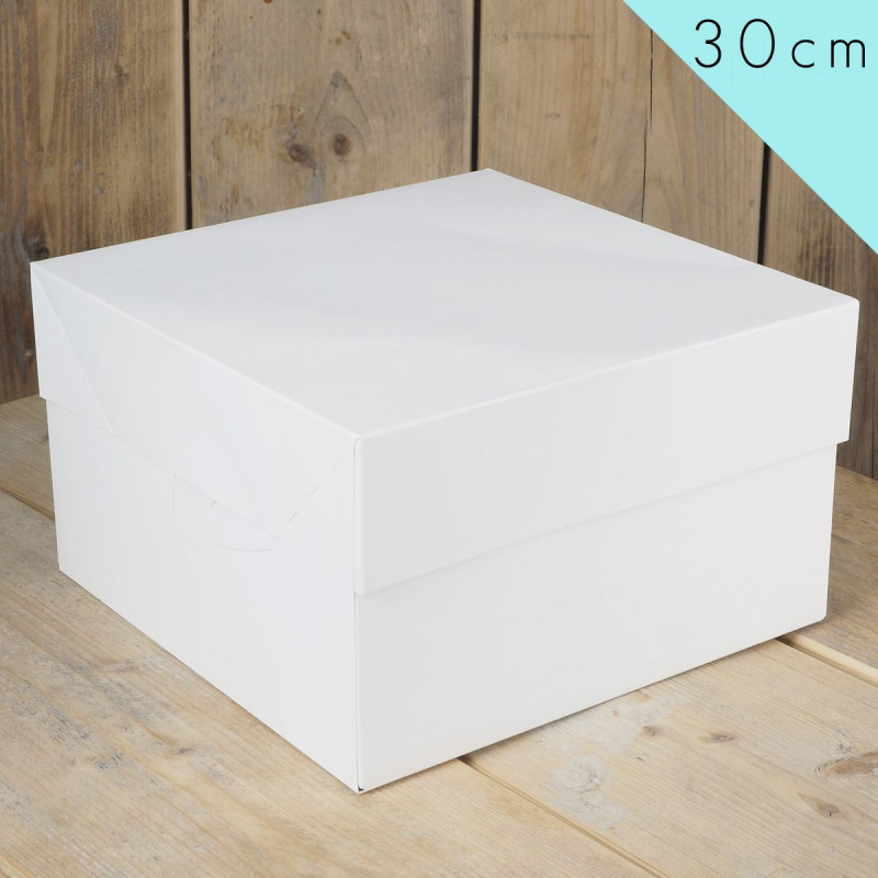 Caja para tarta 30 cm Funcakes