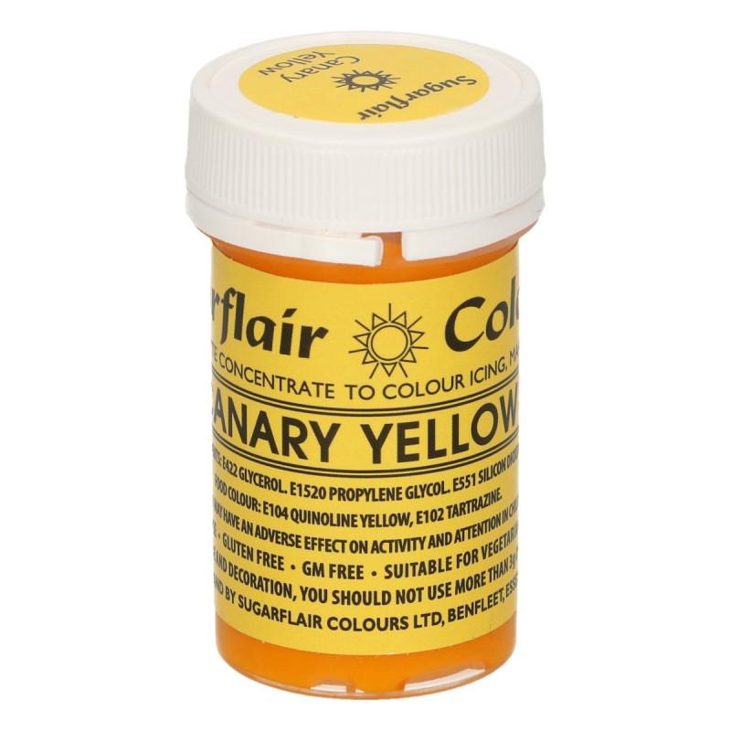 Colorante en pasta Amarillo Canario Canary Yellow Sugarflair