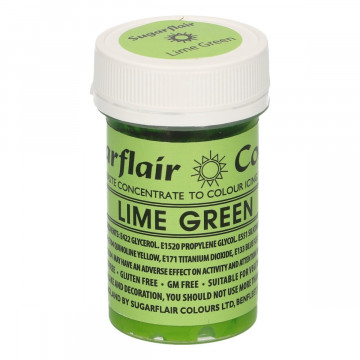 Colorante en pasta Verde Lima Lime Green Sugarflair