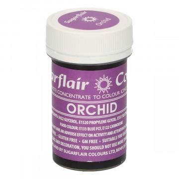 Colorante en pasta en violeta orquídea de Sugarflair