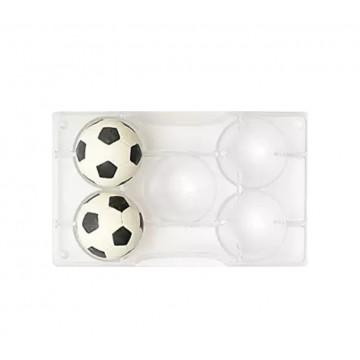 Molde de policarbonato Balón de Futbol 5.5 cm Decora italia
