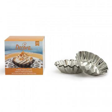 Pack de 10 moldes de Tartaletas Decora Italia