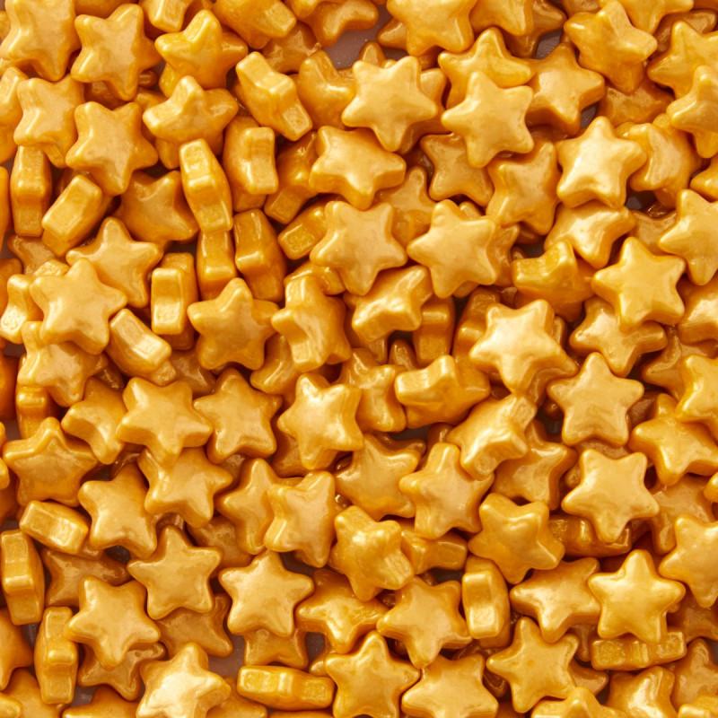Sprinkles Estrellas Oro Wilton