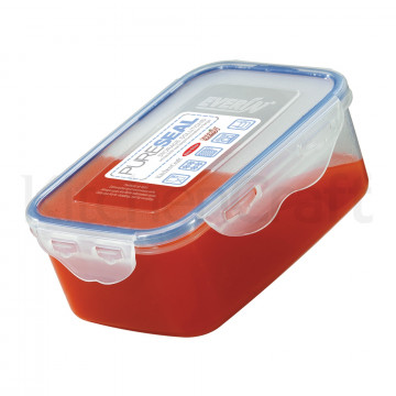 Tupper con tapa rectangular 900 ml Pure Seal Kitchen Craft