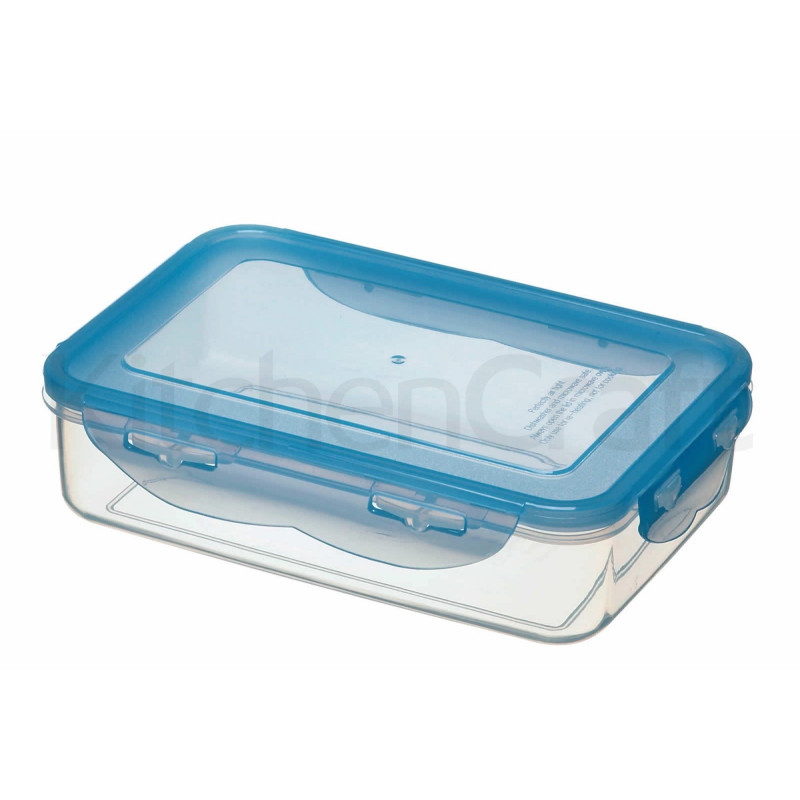 Tupper con tapa rectangular con compartimentos 1.1 Litros Pure Seal Kitchen Craft