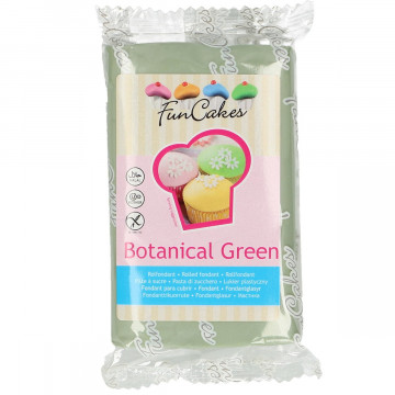 Fondant Verde Botanical 250 gr Funcakes