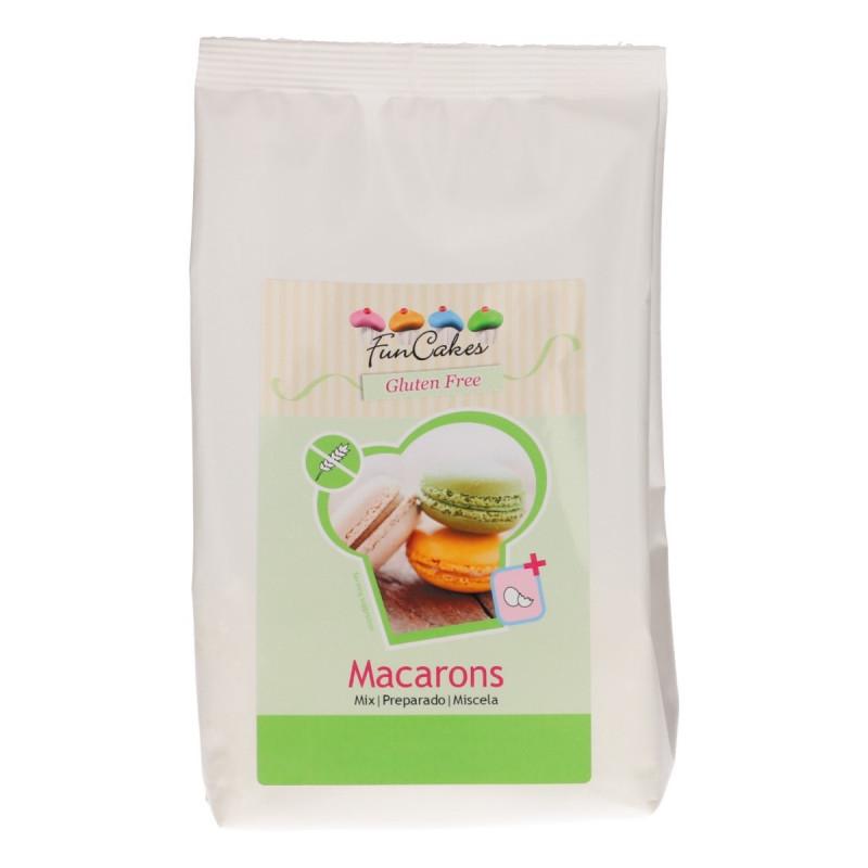 Preparado para hacer Macarons Sin Gluten 300 gr Funcakes