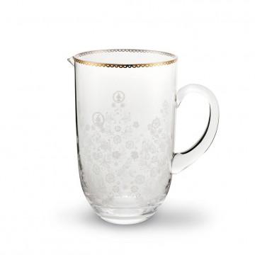 Jarra de cristal 1.7 litros Floral Pip Studio