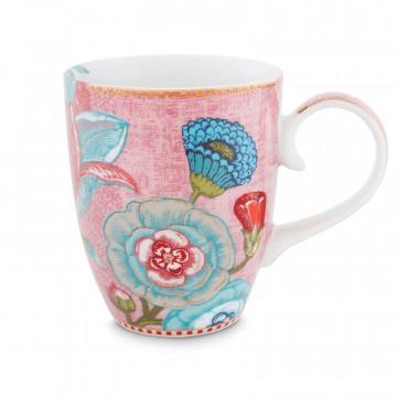 Taza con asa mediana Spring to Life Rosa Pip Studio