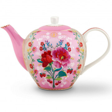 Tetera de cerámica Floral Rosa Pip Studio